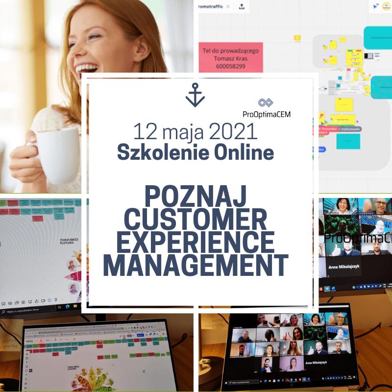 Poznaj Customer Experience Management - szkolenie otwarte - online