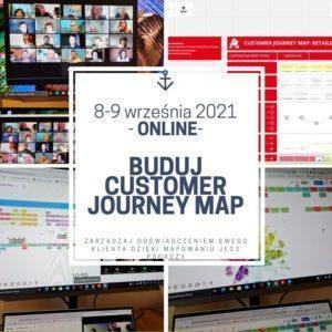 Buduj Customer Journey Map - szkolenie otwarte - online