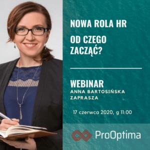 Nowa rola HR – odczego zaczac poKryzysie - WEBINAR 17.06.2020