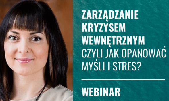 Zarządzanie kryzysem wewnętrznym – czyli jak opanować myśli i stres - prooptima